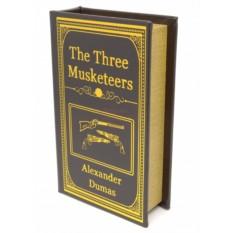 Малая деревянная книга-шкатулка Три мушкетера