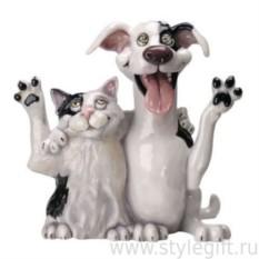 Фигурка кошки и собаки Jack&Jill