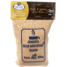 Кофе Ямайка Блю Маунтин Blend, зерно, обжарка средняя (500 г)