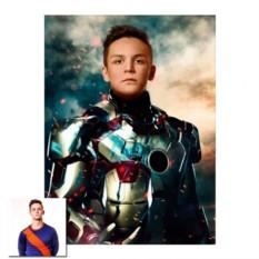 Портрет Супергерой