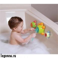 Игрушка для ванны Черепашки-барабаны (Little Tikes)