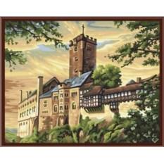 Картина по номерам 40х50 см Замок
