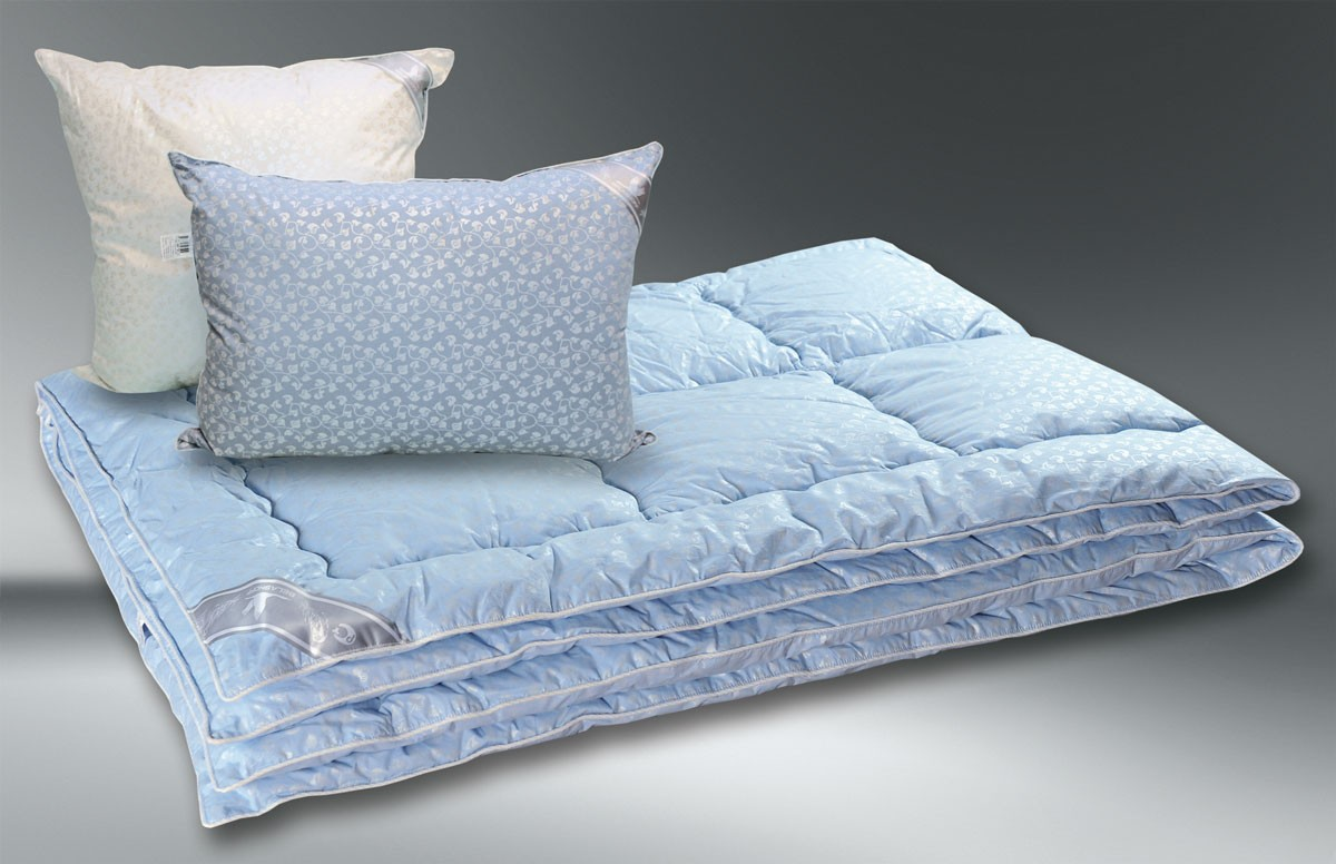Одеяло Лебяжий пух (евростандарт)
