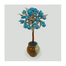 Дерево с бирюзой Бирюзовая нежность