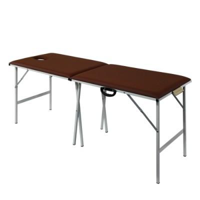Металлический раскладной массажный стол
