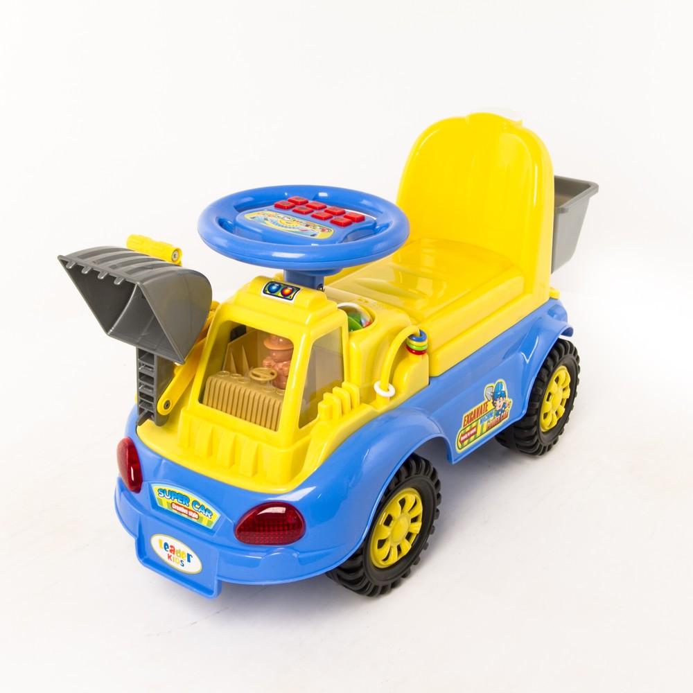 Каталка Leader Kids, цвет: желтый/синий