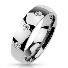 Стальное кольцо Блеск