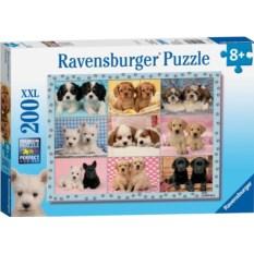Пазл Ravensburger Прелестные щенки, 200 элементов