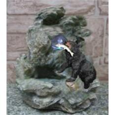 Фонтан «Медведь пришел с рыбалки»