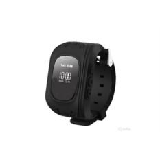 Черные умные детские часы с GPS Smart Baby Watch Q50