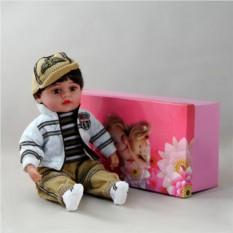 Декоративня виниловая кукла-мальчик