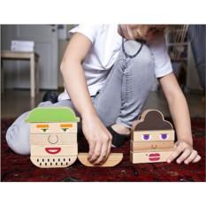Деревянный конструктор «На кого похож»