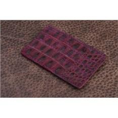 Фиолетовый горизонтальный держатель для карт