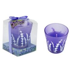 Ароматическая свеча Лаванда