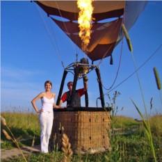 Полет на воздушном шаре для двоих с фотосессией