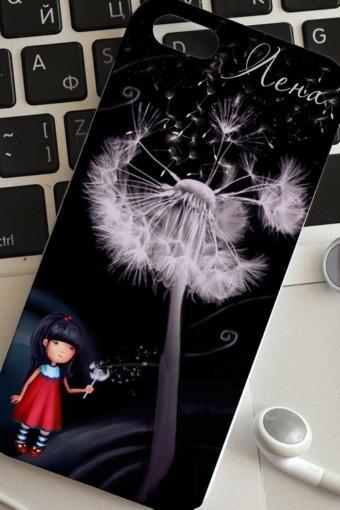 Чехол для iphone 5 с вашим текстом Цветы