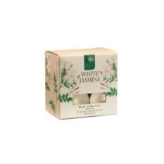 Набор из 12 ароматических чайных свечей Белый жасмин