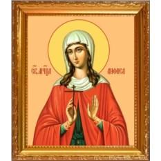 Икона на холсте Анфиса Римская Святая мученица
