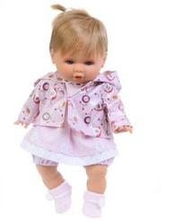 Кукла Леонора в розовом