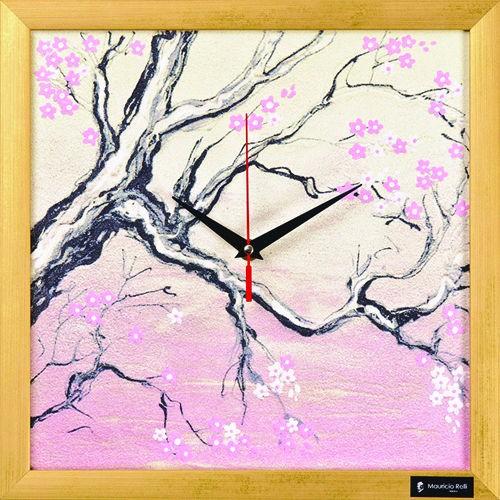 Настенные часы из песка Время Черри