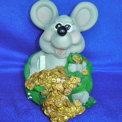 Копилка «Богатая мышь»