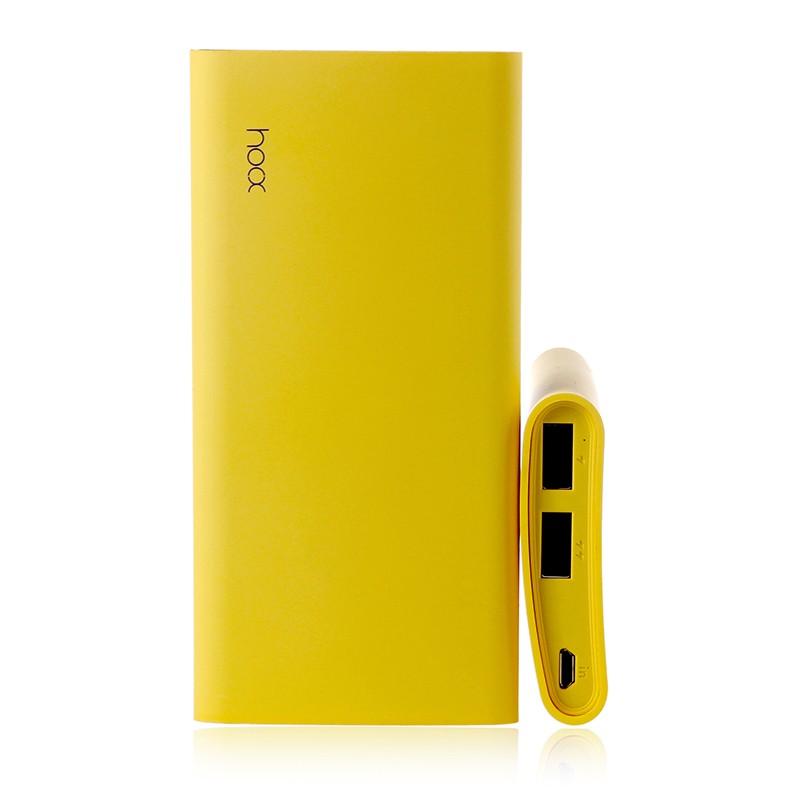 Аккумулятор портативный на 6000 мАч Comma, желтый