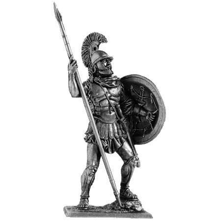 Афинский гоплит, 4 век до н.э.