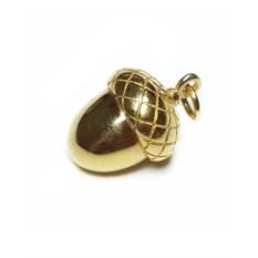 Кулон Желудь (золото, 750 проба)