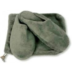 Мужские тапочки для дома (цвет: серый)