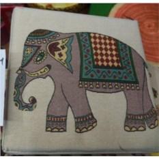 Складной пуф Слон с местом для хранения