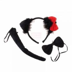 Карнавальный набор Кошка (ушки, бантик, хвостик)