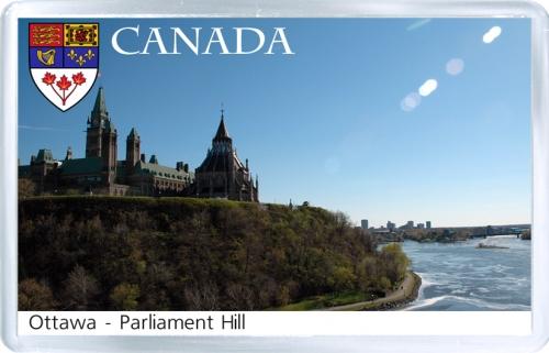 Магнит: Канада. Парламентский холм в Оттаве