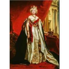 Фотопортрет на холсте в образе императрицы