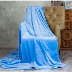 Классический плюшевый плед Sleepy Classic (цвет: голубой)