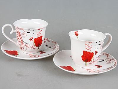 Чайный набор на 2 персоны Rosenberg (4 предмета)