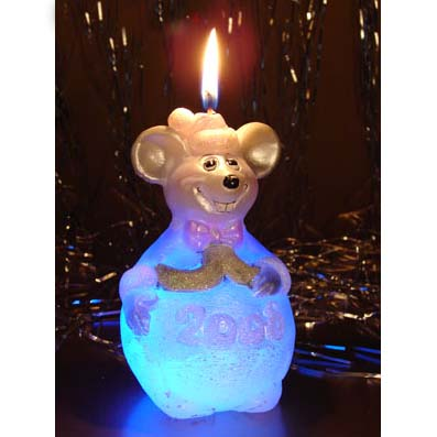 Мышонок-фонарик