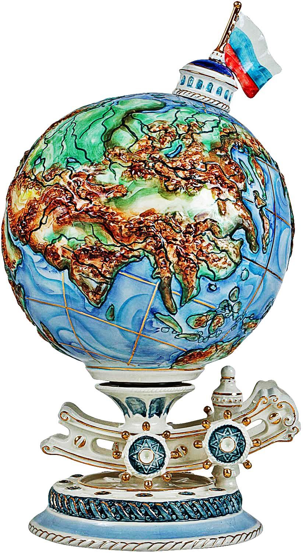Штоф-глобус для напитков Кругосветное застолье