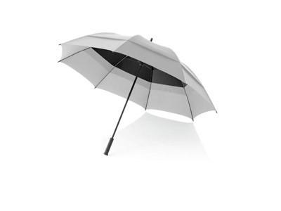 Зонт-трость механический от Slazenger, серебристый