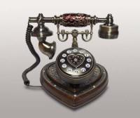 Ретро-телефон  Head