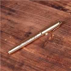 Ручка Parker с гравировкой, цвет: золото
