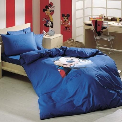 Детское постельное белье Mickey logo