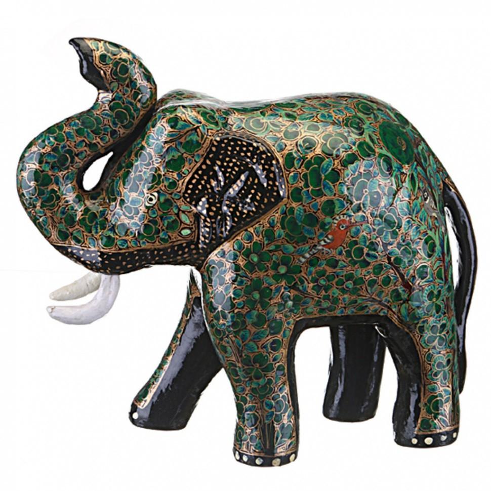 Фигурка Зеленый слоник