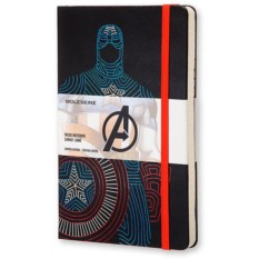 Записная книжка Moleskine The Avengers Captain America