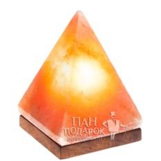 Малая солевая лампа «Пирамида»