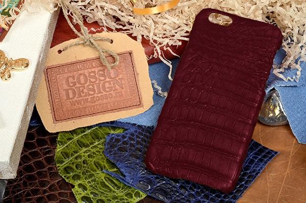 Рубиновый чехол-накладка FUERTE для iPhone 6S / 6