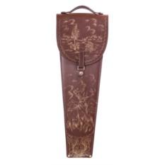 Подарочные шампура в кожаном колчане Вожак