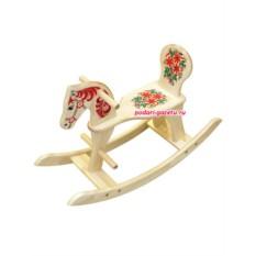 Качалка-лошадка Хохлома