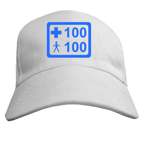 Бейсболка «Жизней 100%, Брони 100%»