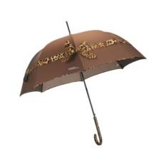 Коричневый зонт-трость Ferre Milano