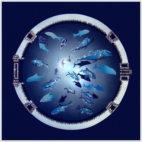 Картина Swarovski Иллюминатор